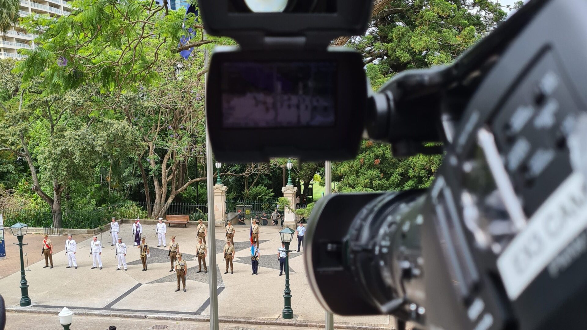Queensland Parliament opening VMP event video production